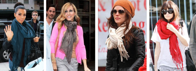 celebritieswithscarves