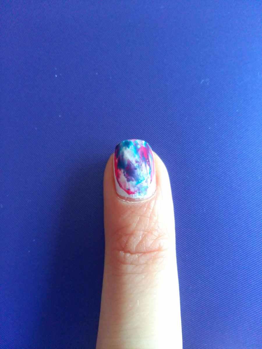 Nail Art - Watercolor nails/Акварелни нокти