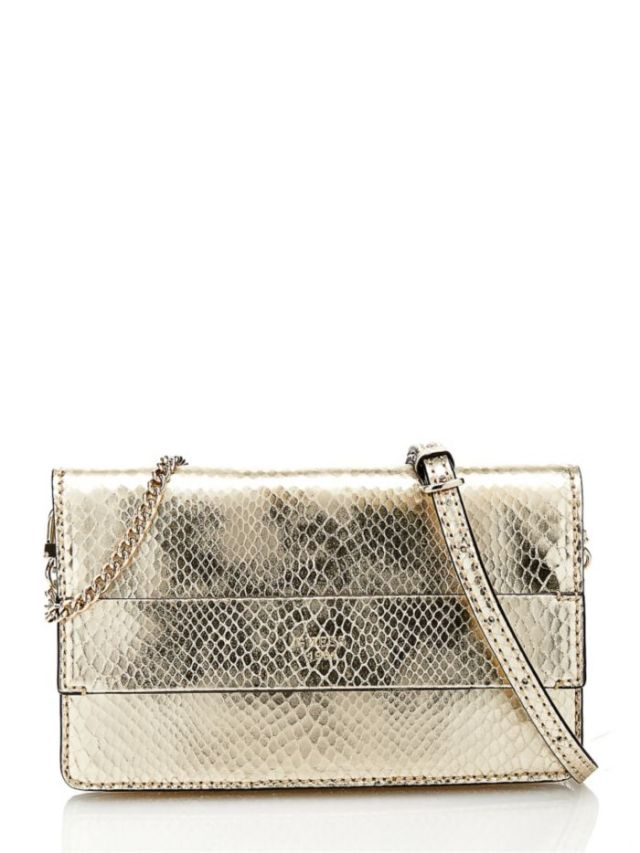 guess metallic bag