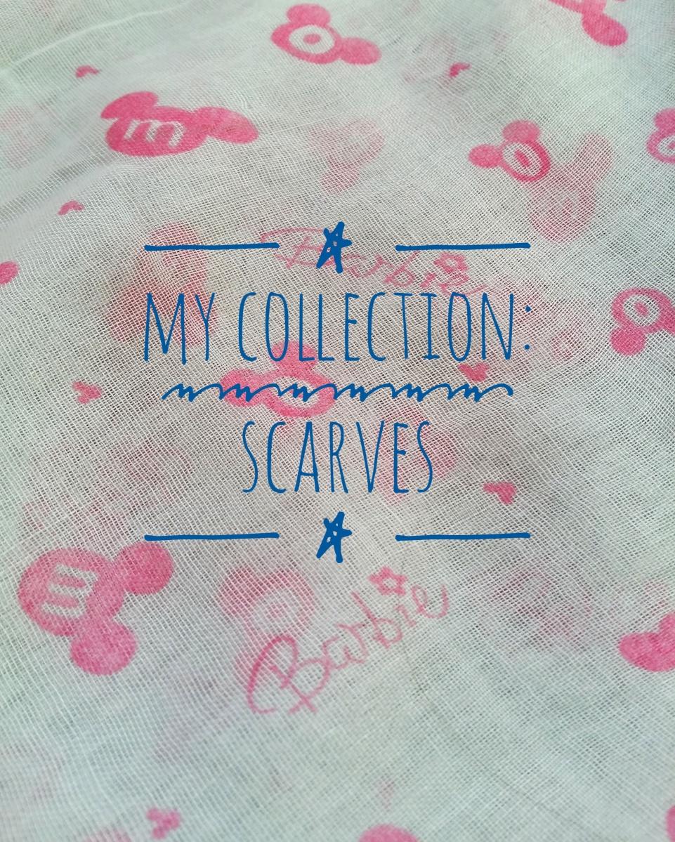 My collection: Scarves/ Моята колекция от шалове