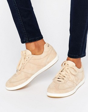 pale pink trainers
