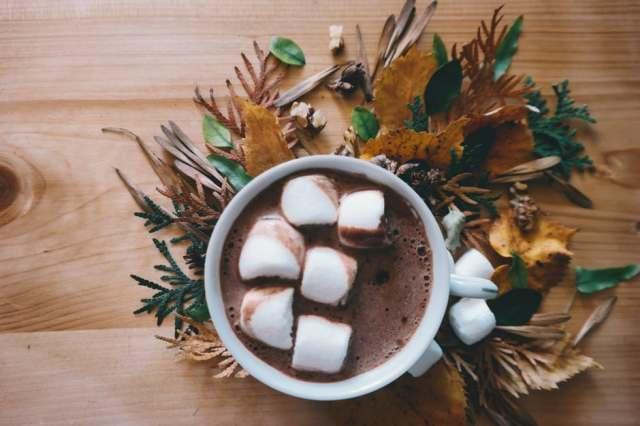 marhmellow and cocoa