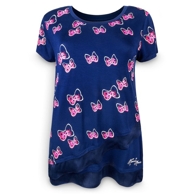 minnie mouse bow t-shirt