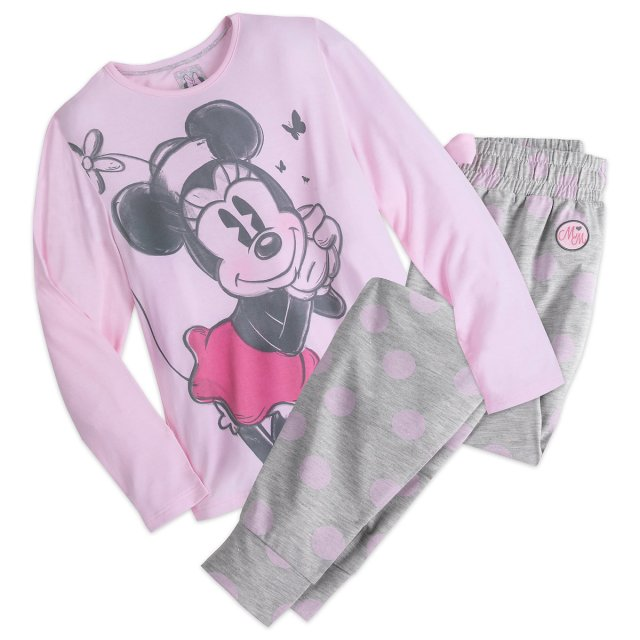 minnie pyjama set