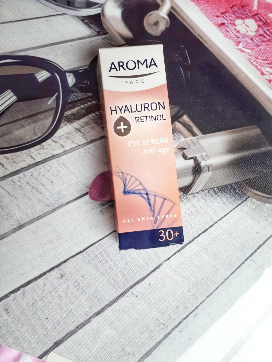 Review: Aroma anti-age eye serum Hyaluron Retinol 30+