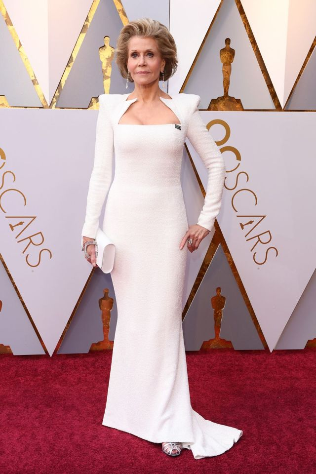 Jane Fonda oscars 2018